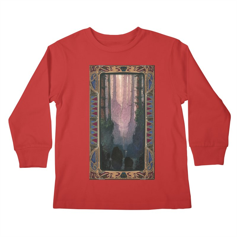 Sleep In TheThe Forest Kids Longsleeve T-Shirt by psweetsdesign's Artist Shop