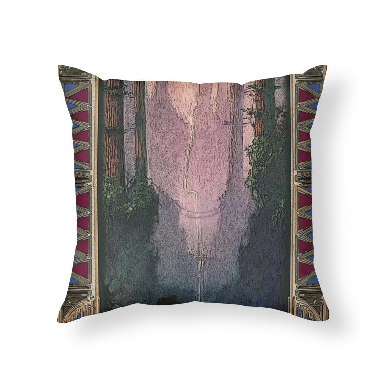Sleep In TheThe Forest Home Throw Pillow by psweetsdesign's Artist Shop