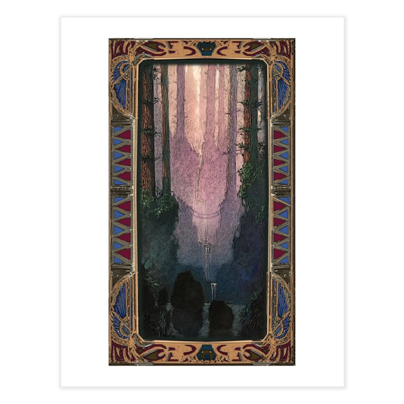 Sleep In TheThe Forest Home Fine Art Print by psweetsdesign's Artist Shop