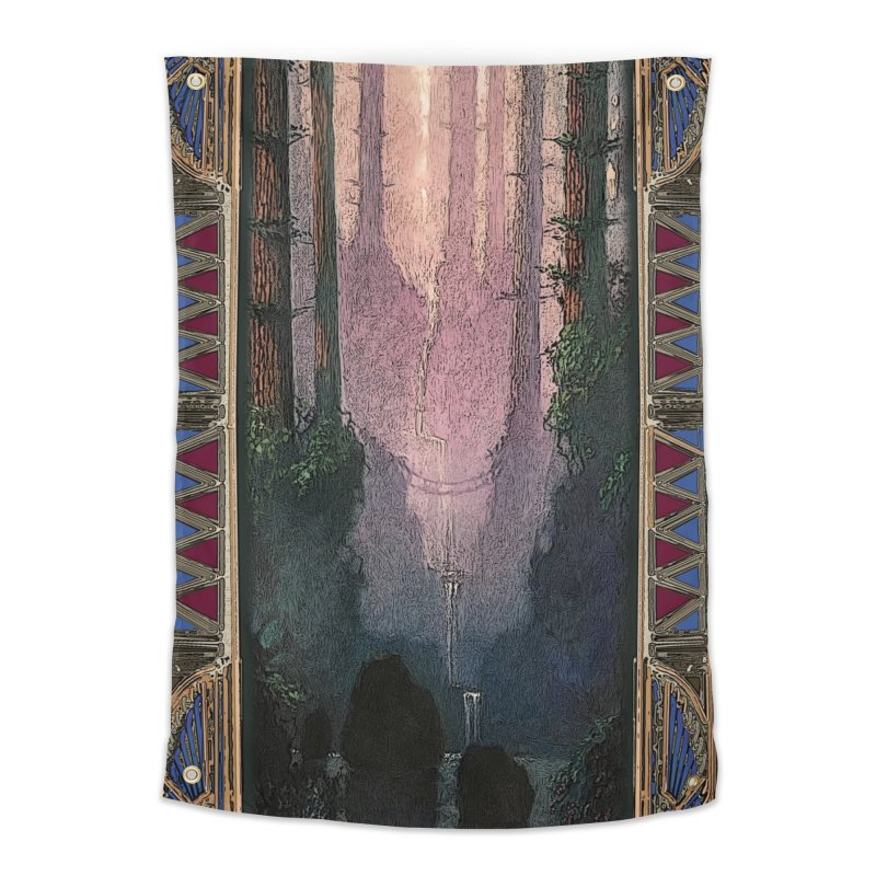 Sleep In TheThe Forest Home Tapestry by psweetsdesign's Artist Shop
