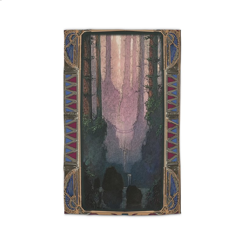 Sleep In TheThe Forest Home Rug by psweetsdesign's Artist Shop