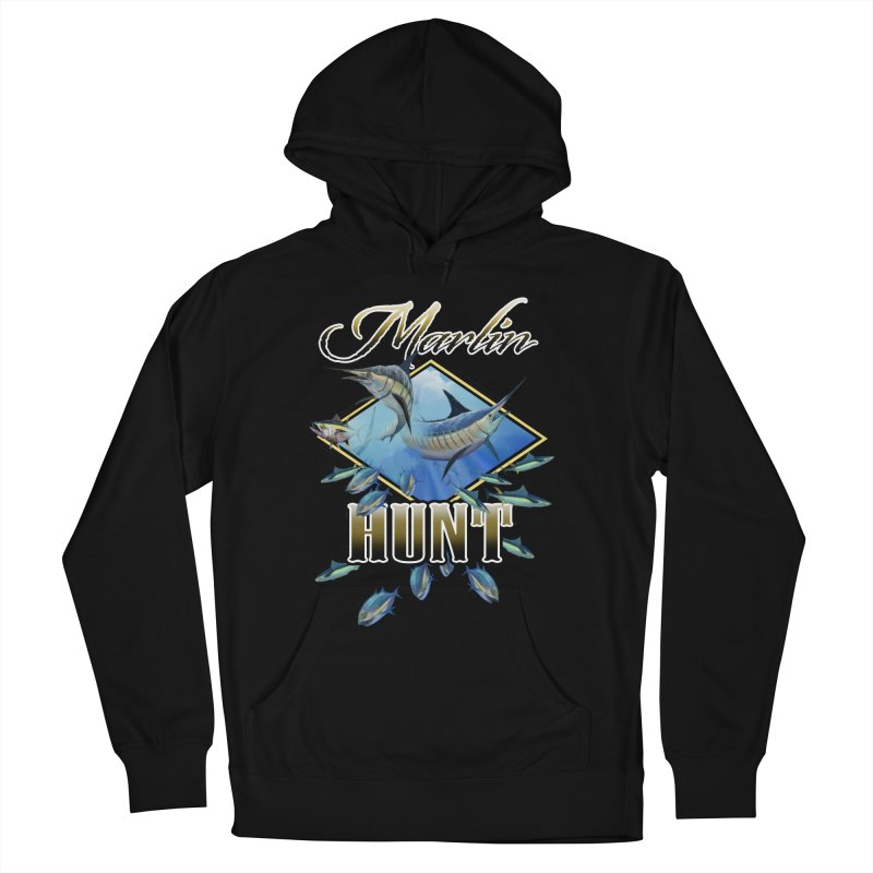 Marlin Hunt Women's Pullover Hoody by psweetsdesign's Artist Shop