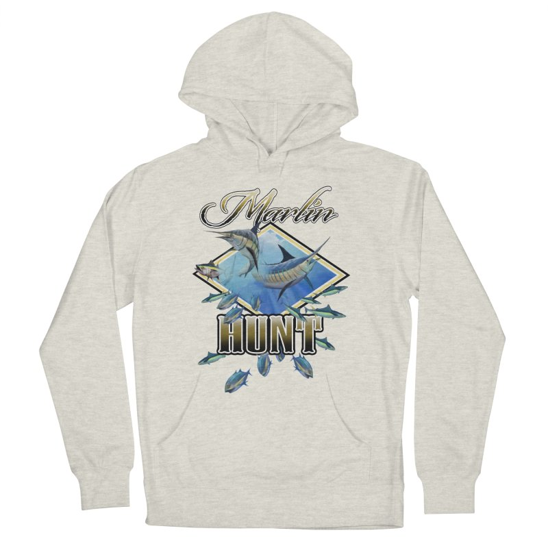 Marlin Hunt Men's Pullover Hoody by psweetsdesign's Artist Shop