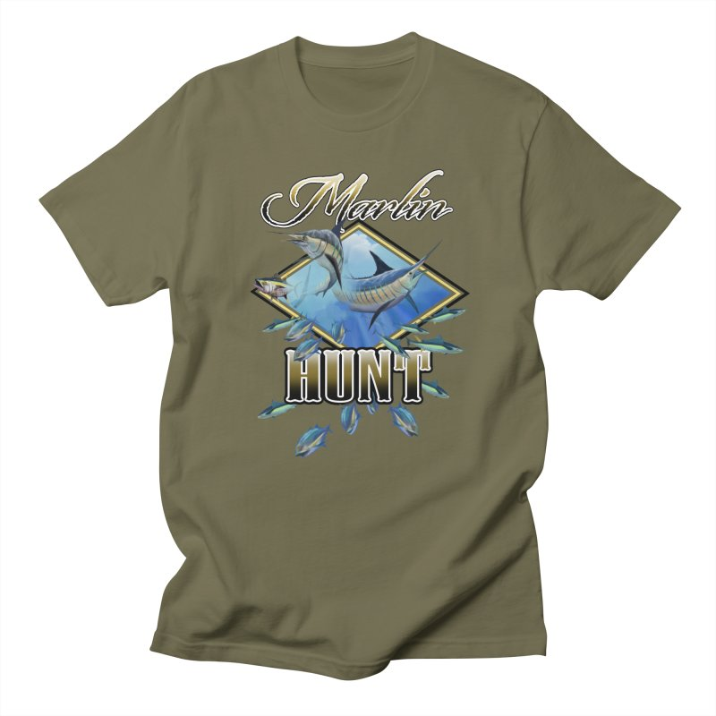 Marlin Hunt Men's T-Shirt by psweetsdesign's Artist Shop