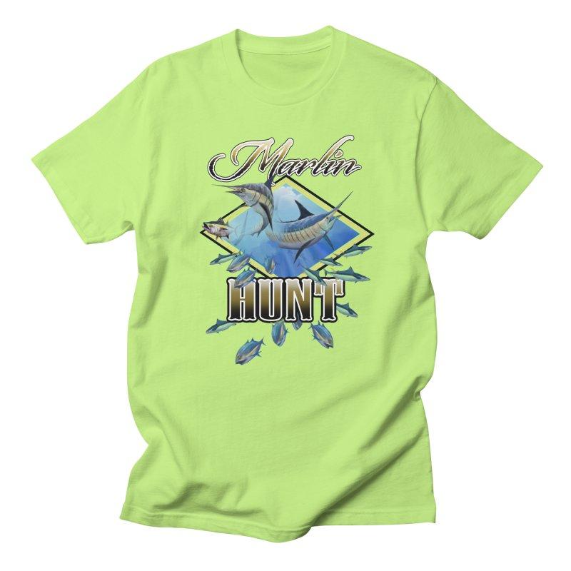 Marlin Hunt Women's Unisex T-Shirt by psweetsdesign's Artist Shop