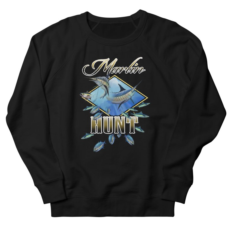 Marlin Hunt Women's Sweatshirt by psweetsdesign's Artist Shop