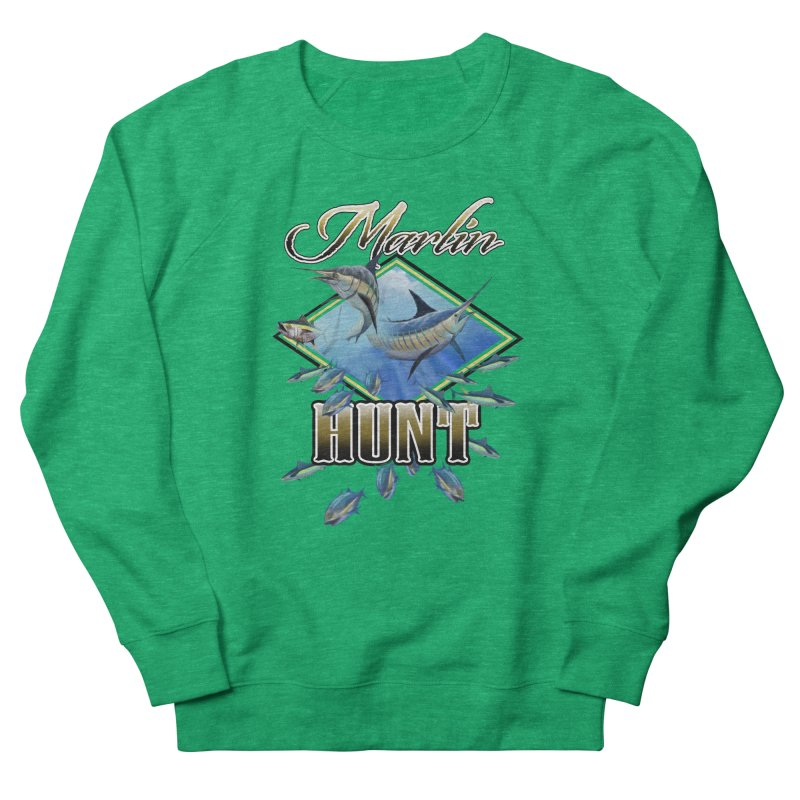 Marlin Hunt Men's Sweatshirt by psweetsdesign's Artist Shop