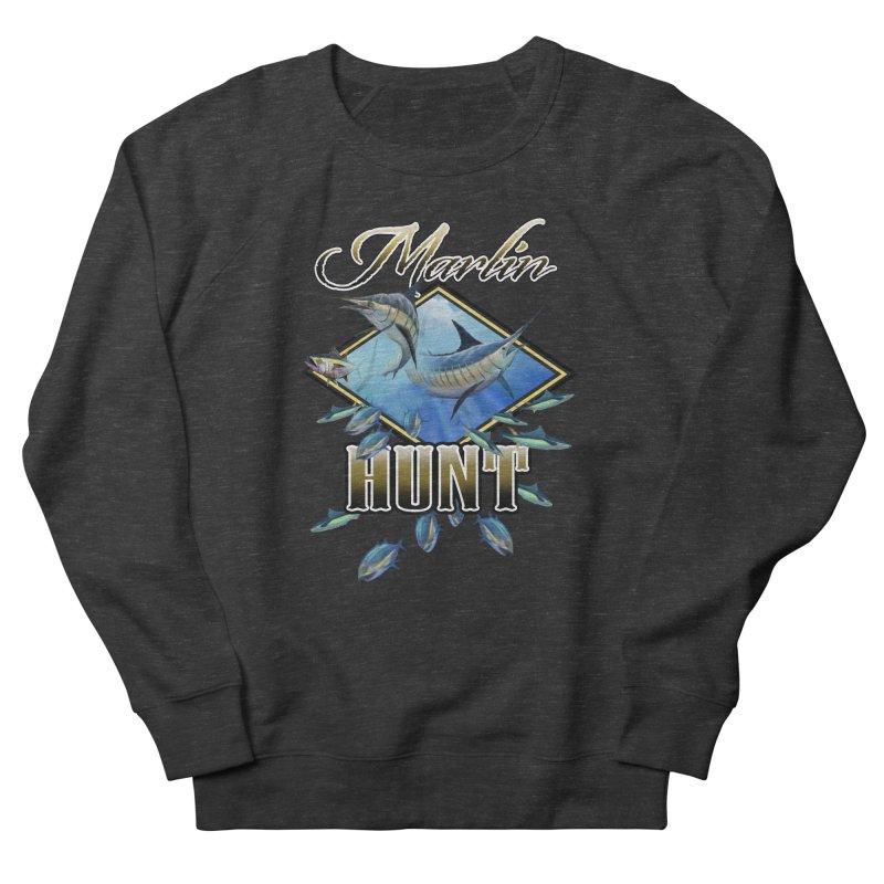 Marlin Hunt Men's Sweatshirt by psweetsdesign's Artist Shop