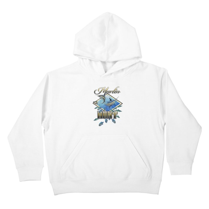 Marlin Hunt Kids Pullover Hoody by psweetsdesign's Artist Shop