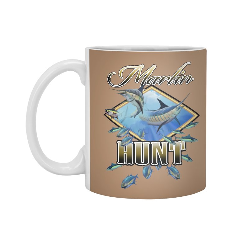Marlin Hunt Accessories Mug by psweetsdesign's Artist Shop
