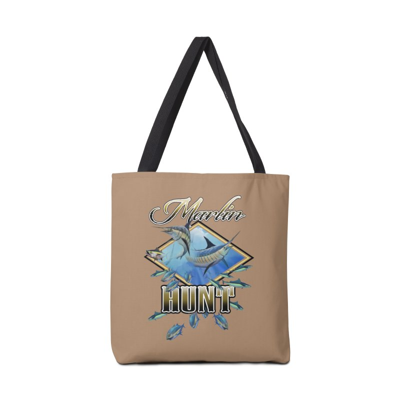 Marlin Hunt Accessories Bag by psweetsdesign's Artist Shop