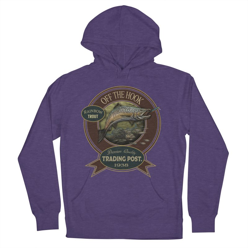 Off the hook Men's French Terry Pullover Hoody by psweetsdesign's Artist Shop