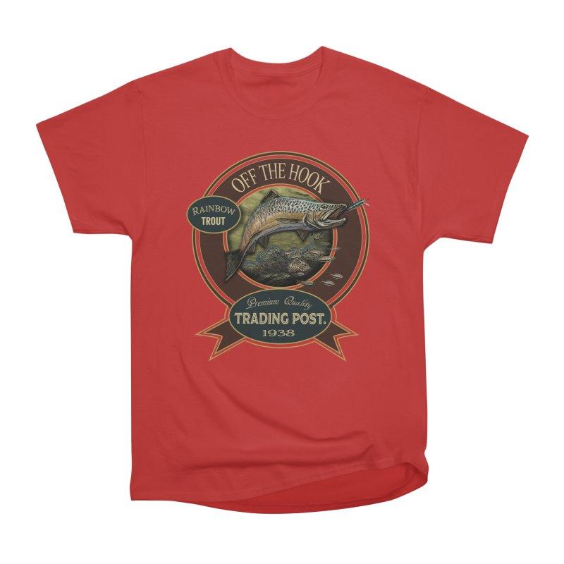 Off the hook Men's Heavyweight T-Shirt by psweetsdesign's Artist Shop