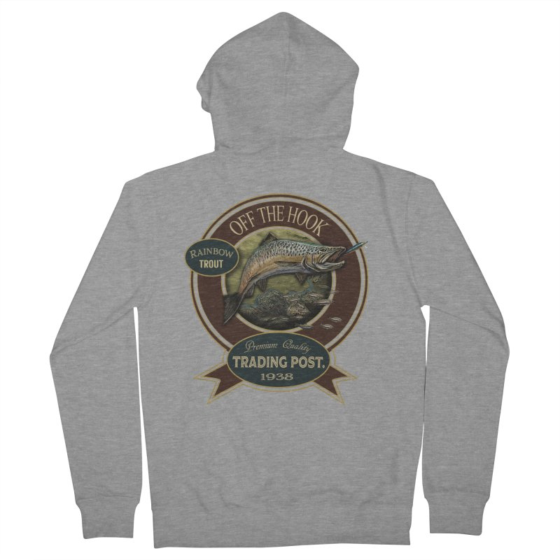 Off the hook Men's Zip-Up Hoody by psweetsdesign's Artist Shop