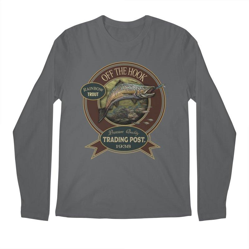 Off the hook Men's Longsleeve T-Shirt by psweetsdesign's Artist Shop