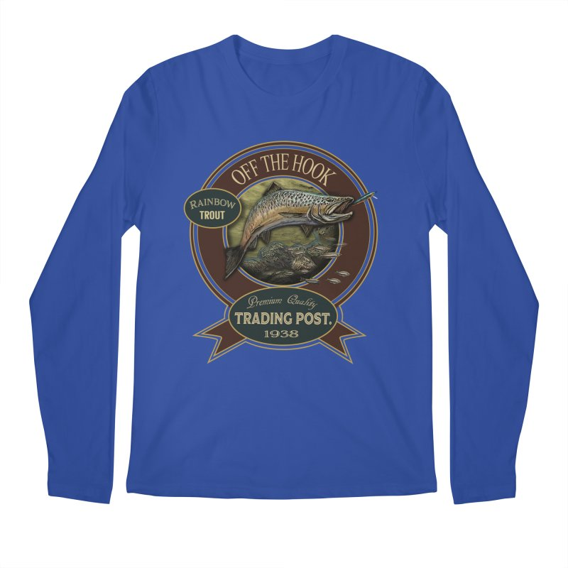 Off the hook Men's Regular Longsleeve T-Shirt by psweetsdesign's Artist Shop