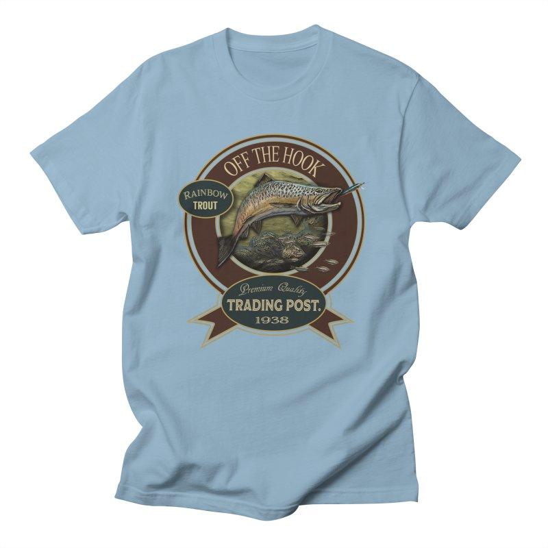 Off the hook Men's T-Shirt by psweetsdesign's Artist Shop