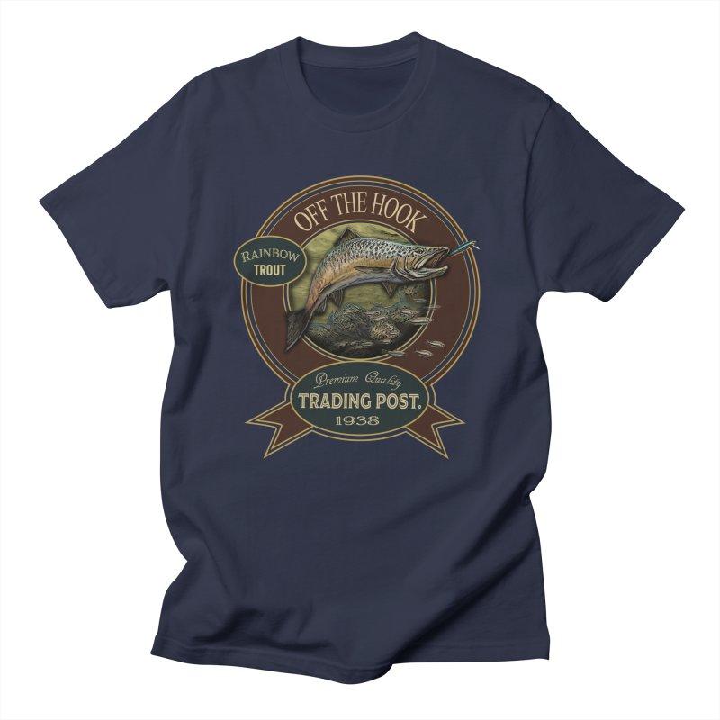 Off the hook Men's Regular T-Shirt by psweetsdesign's Artist Shop