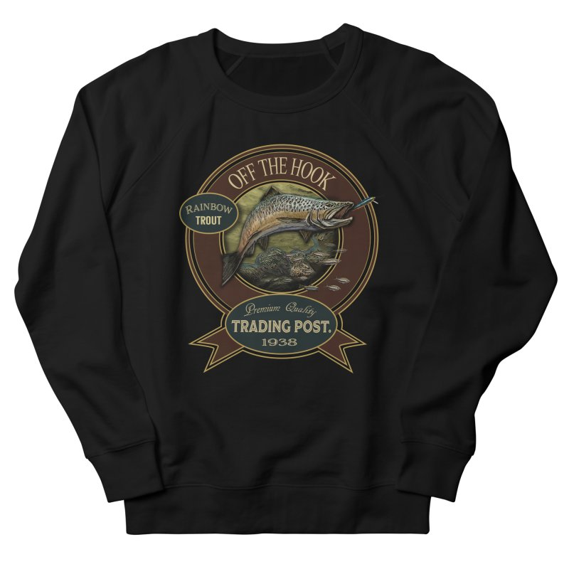 Off the hook Men's French Terry Sweatshirt by psweetsdesign's Artist Shop