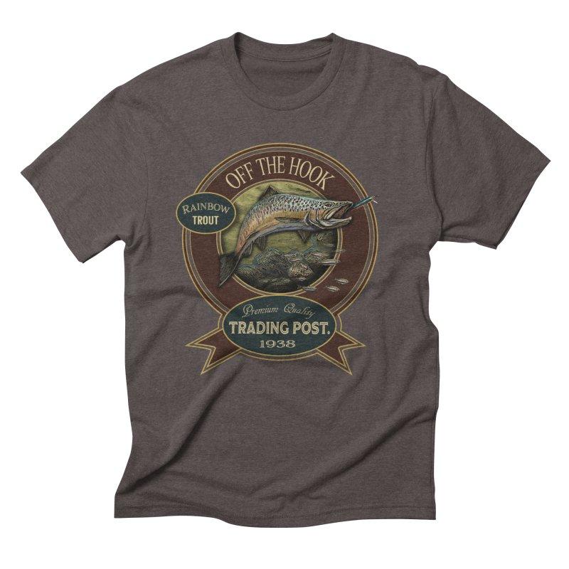 Off the hook Men's Triblend T-shirt by psweetsdesign's Artist Shop
