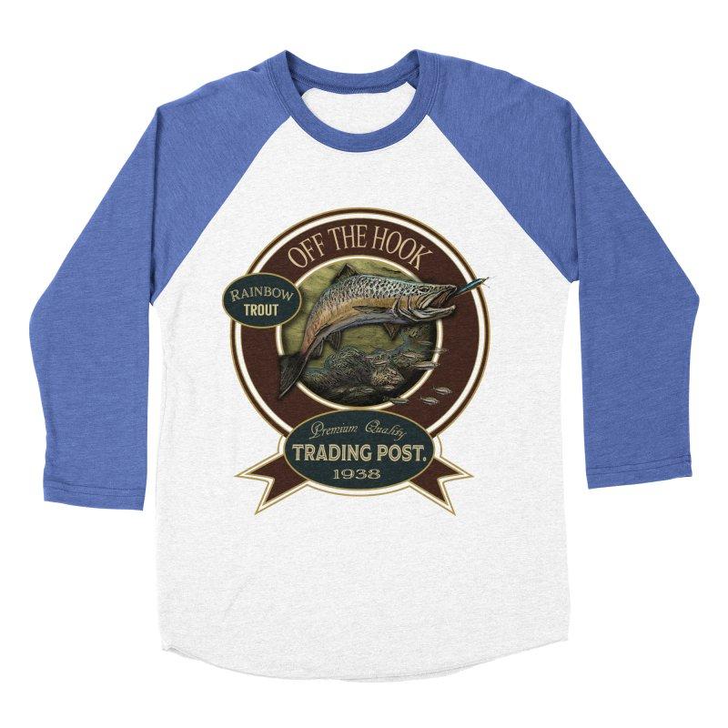 Off the hook Women's Baseball Triblend Longsleeve T-Shirt by psweetsdesign's Artist Shop