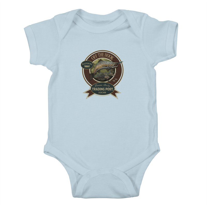 Off the hook Kids Baby Bodysuit by psweetsdesign's Artist Shop