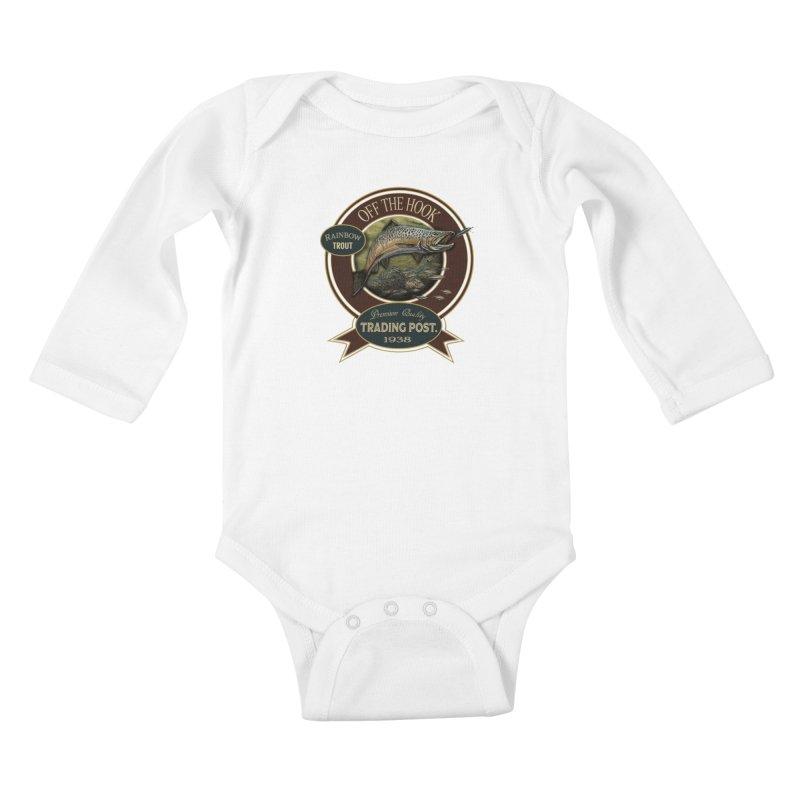 Off the hook Kids Baby Longsleeve Bodysuit by psweetsdesign's Artist Shop