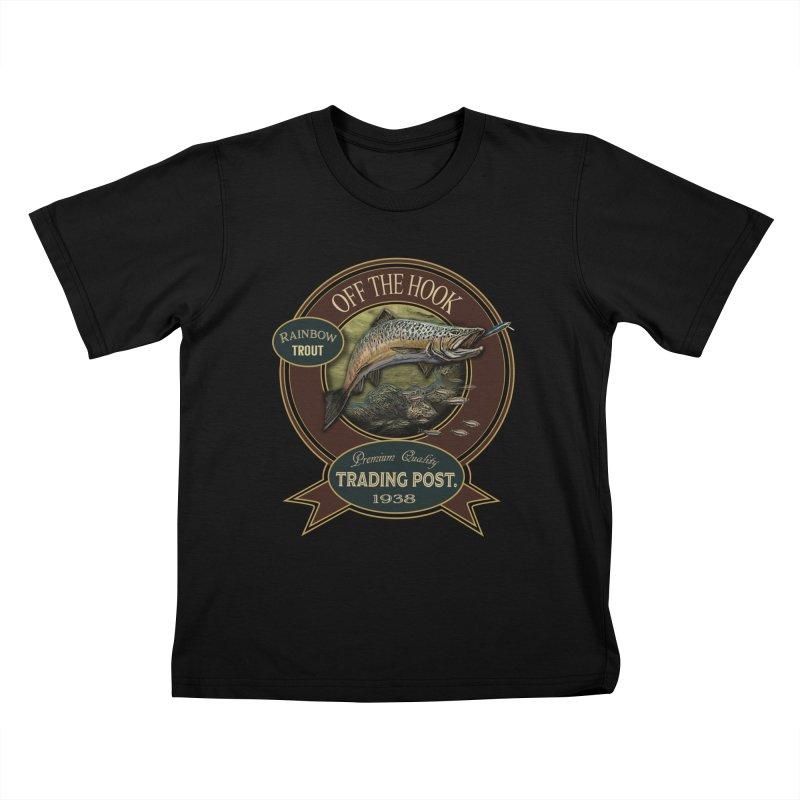 Off the hook Kids T-Shirt by psweetsdesign's Artist Shop