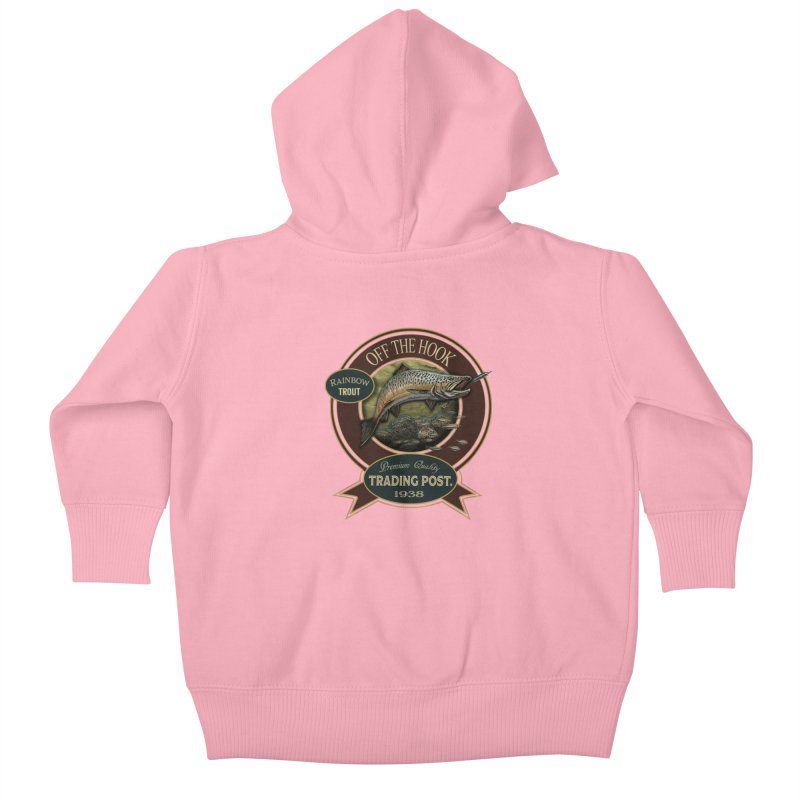Off the hook Kids Baby Zip-Up Hoody by psweetsdesign's Artist Shop