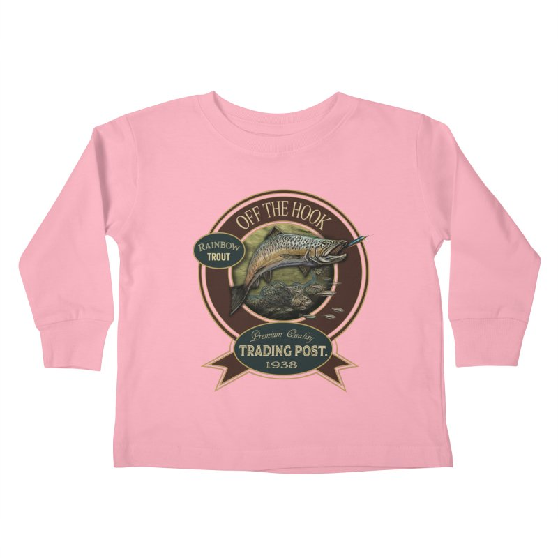 Off the hook Kids Toddler Longsleeve T-Shirt by psweetsdesign's Artist Shop
