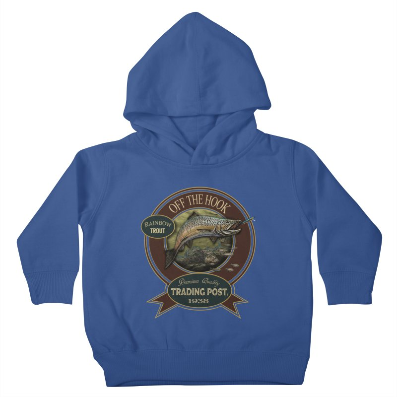 Off the hook Kids Toddler Pullover Hoody by psweetsdesign's Artist Shop