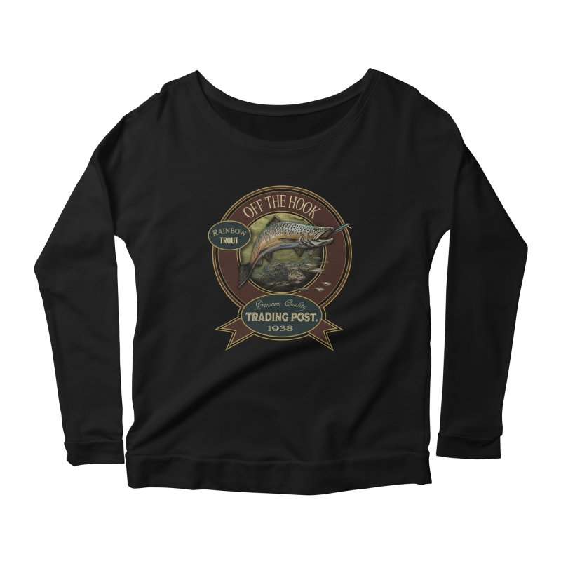 Off the hook Women's Scoop Neck Longsleeve T-Shirt by psweetsdesign's Artist Shop