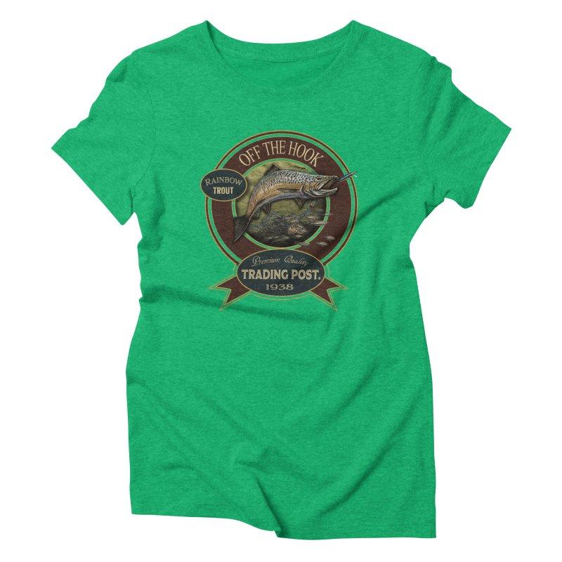 Off the hook Women's Triblend T-shirt by psweetsdesign's Artist Shop