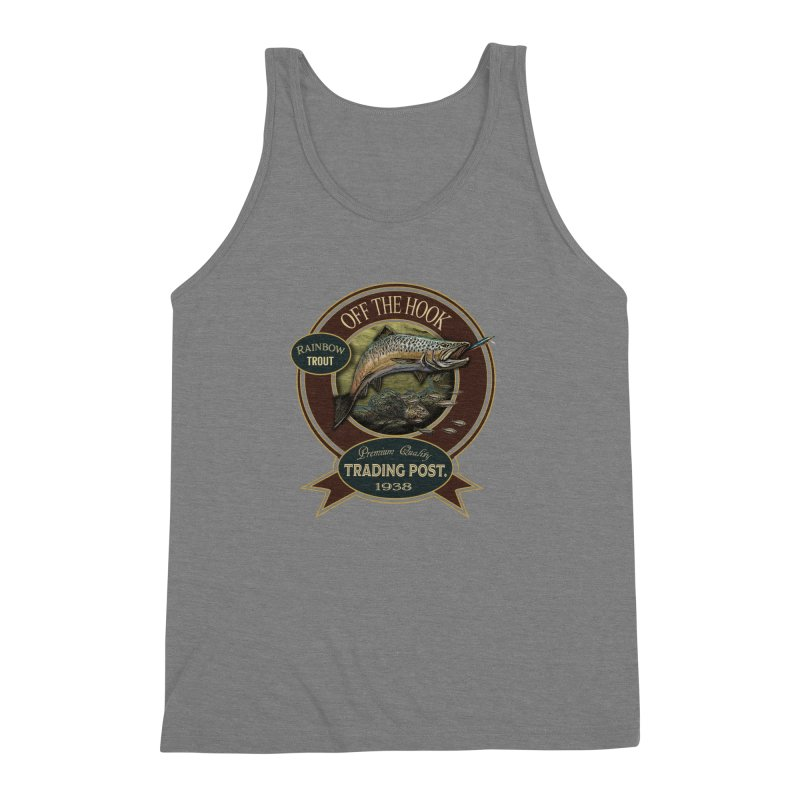 Off the hook Men's Triblend Tank by psweetsdesign's Artist Shop