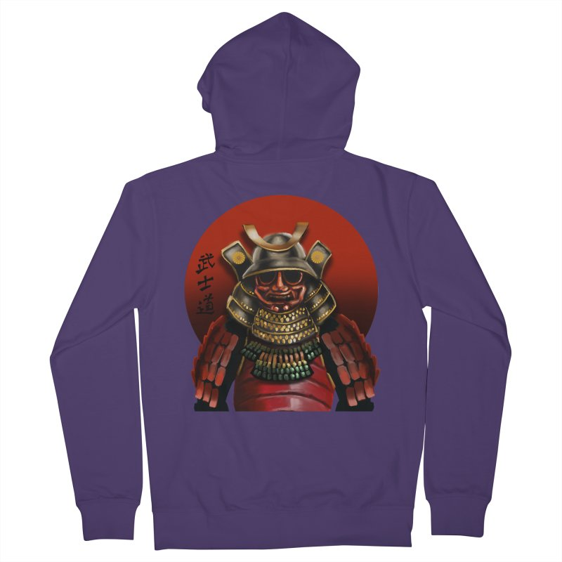 Way of the Warrior Women's French Terry Zip-Up Hoody by psweetsdesign's Artist Shop