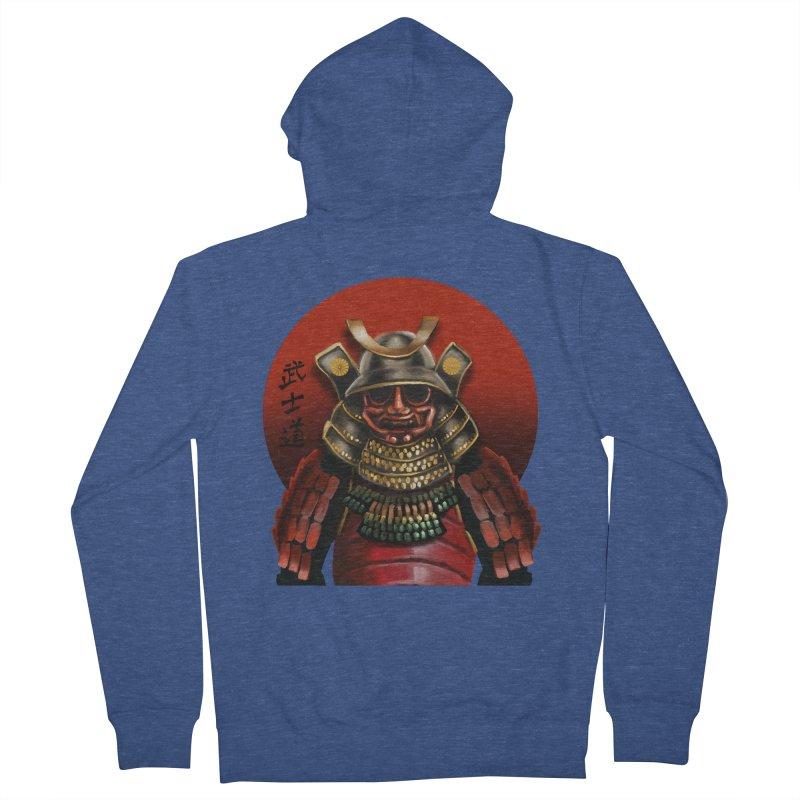 Way of the Warrior Men's Zip-Up Hoody by psweetsdesign's Artist Shop