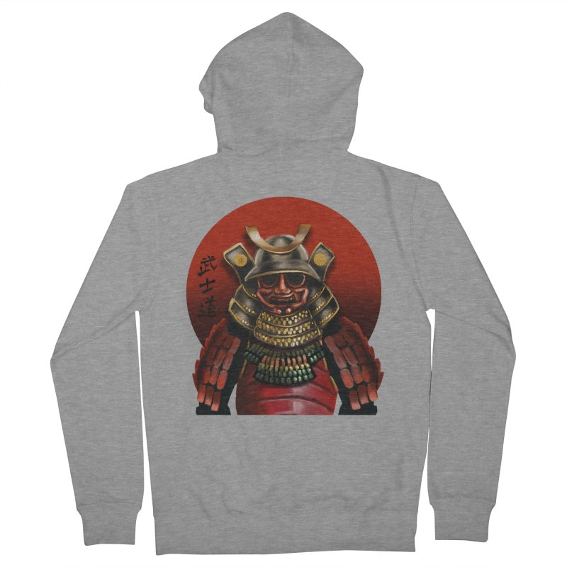 Way of the Warrior Men's Zip-Up Hoody by psweetsdesign's Artist Shop