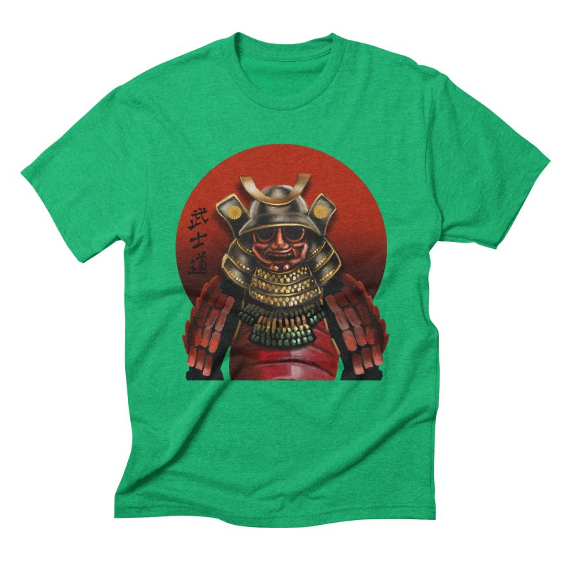 Way of the Warrior Men's Triblend T-Shirt by psweetsdesign's Artist Shop