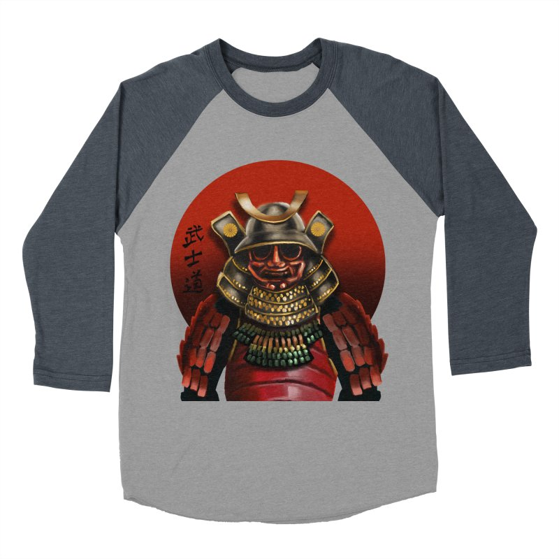 Way of the Warrior Men's Baseball Triblend T-Shirt by psweetsdesign's Artist Shop
