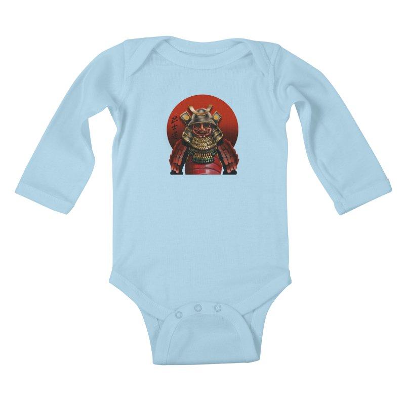 Way of the Warrior Kids Baby Longsleeve Bodysuit by psweetsdesign's Artist Shop