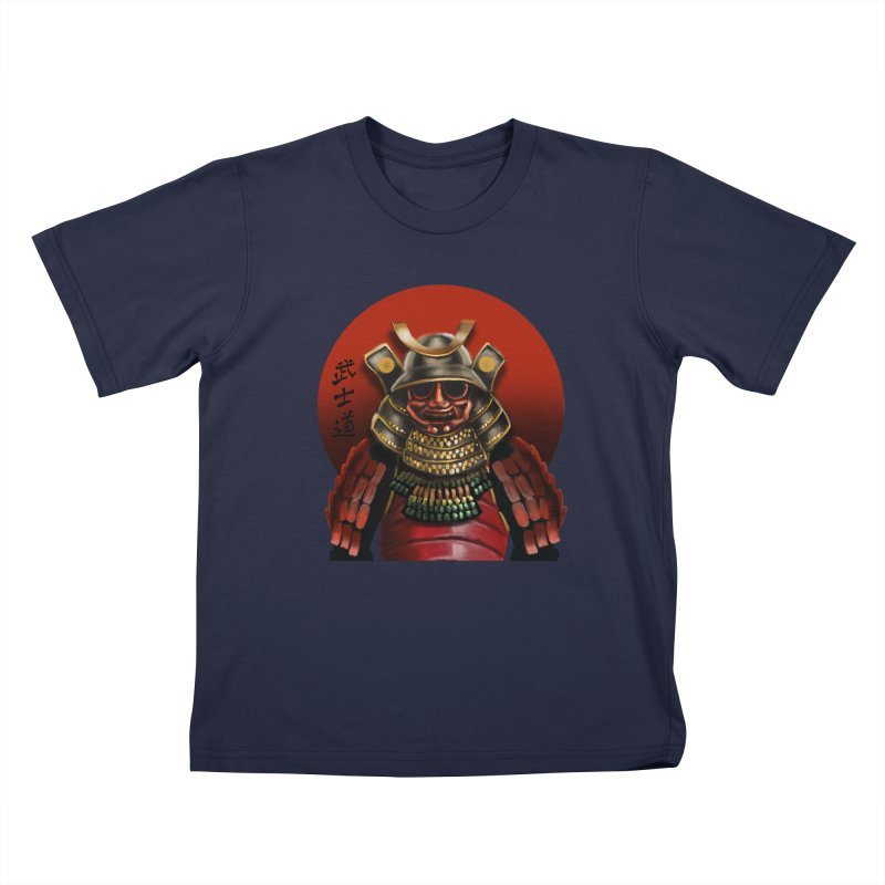 Way of the Warrior Kids T-Shirt by psweetsdesign's Artist Shop