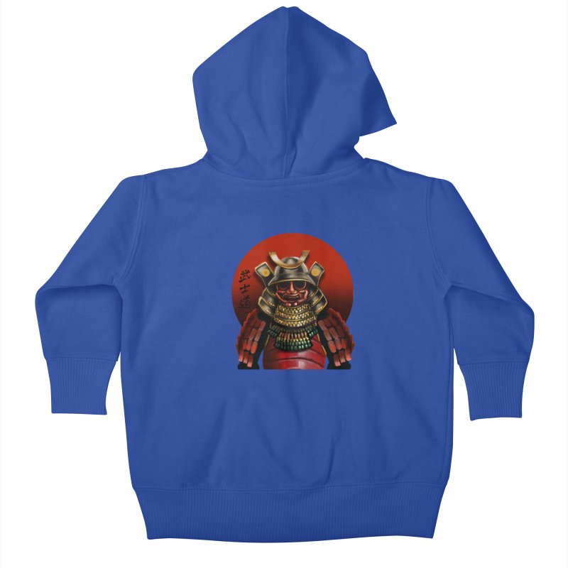 Way of the Warrior Kids Baby Zip-Up Hoody by psweetsdesign's Artist Shop