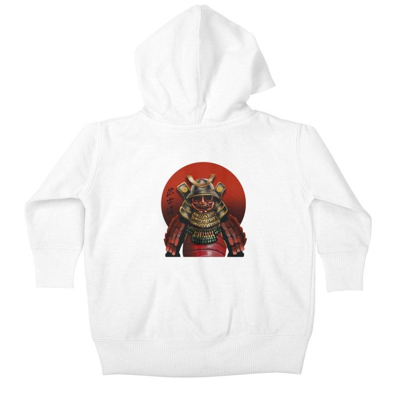 Way of the Warrior Kids Baby Zip-Up Hoody by psweetsdesign's Artist Shop