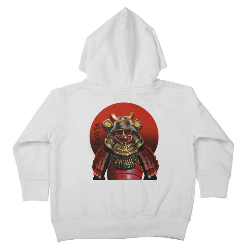 Way of the Warrior Kids Toddler Zip-Up Hoody by psweetsdesign's Artist Shop