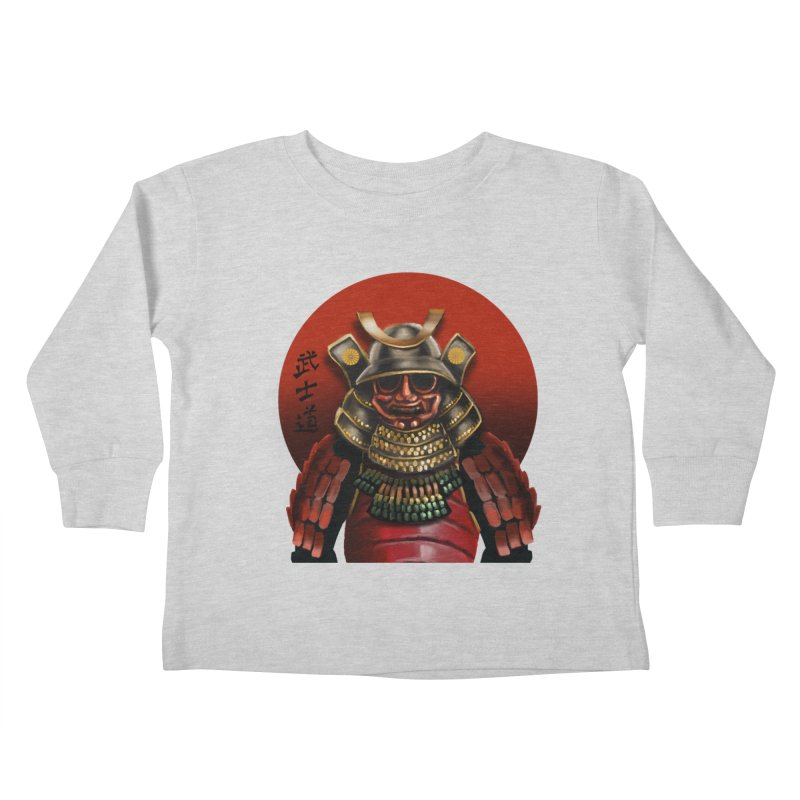 Way of the Warrior Kids Toddler Longsleeve T-Shirt by psweetsdesign's Artist Shop