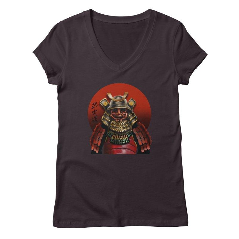 Way of the Warrior Women's Regular V-Neck by psweetsdesign's Artist Shop