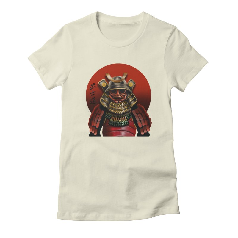 Way of the Warrior Women's Fitted T-Shirt by psweetsdesign's Artist Shop