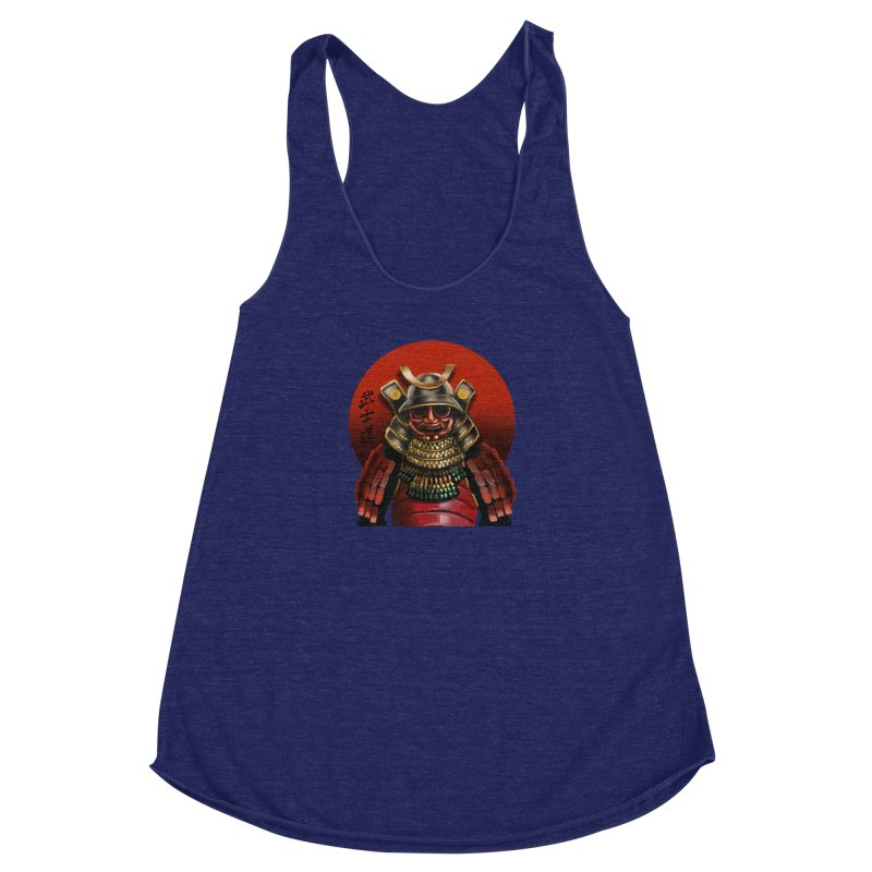 Way of the Warrior Women's Racerback Triblend Tank by psweetsdesign's Artist Shop