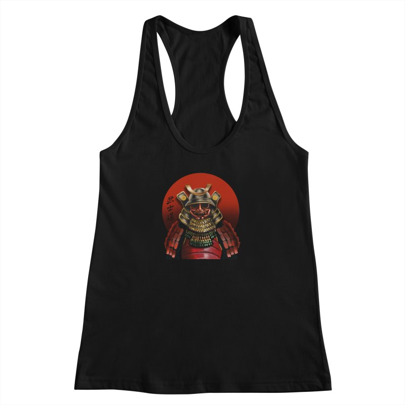 Way of the Warrior Women's Racerback Tank by psweetsdesign's Artist Shop