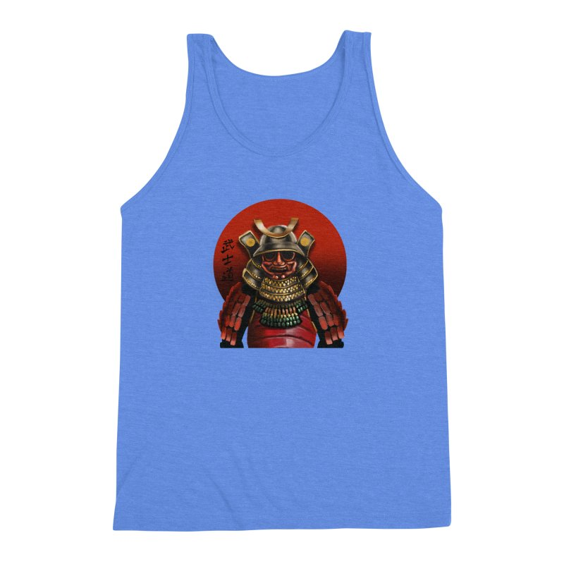 Way of the Warrior Men's Triblend Tank by psweetsdesign's Artist Shop